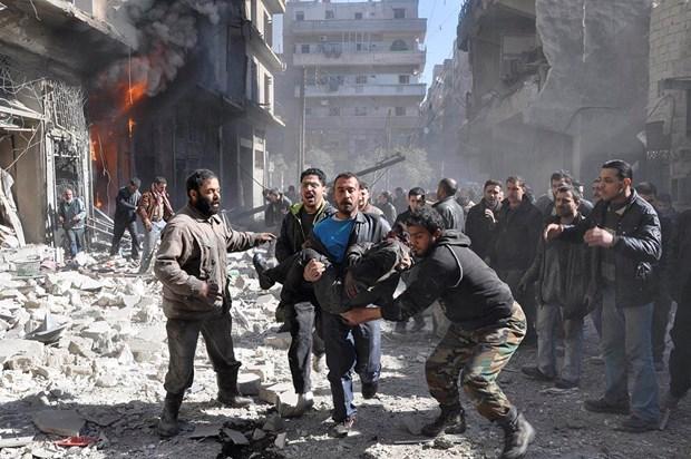 Lien quan My cong bo so nguoi Syria, Iraq thiet mang do khong kich hinh anh 1