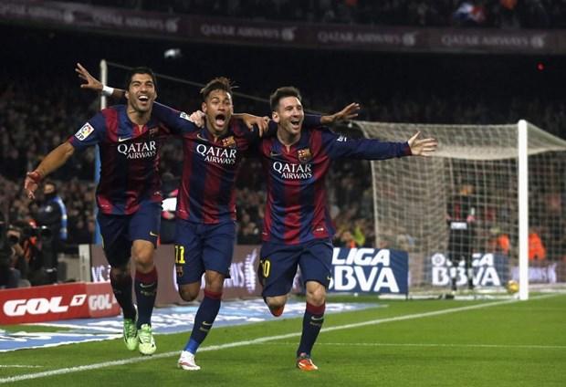 Luis Suarez ru re Neymar quay tro lai mai nha xua Barcelona hinh anh 1