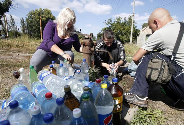 UNICEF: Xung dot tai Dong Ukraine khien nhieu nguoi khong co nuoc sach hinh anh 1