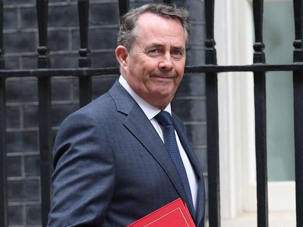 Bộ trưởng Thương mại Anh Liam Fox. Nguồn: The Independent