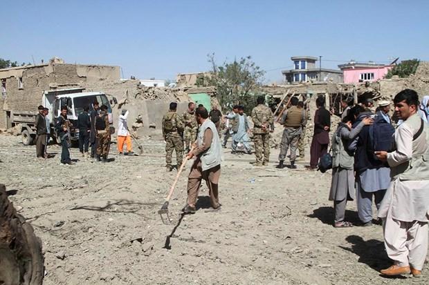 Taliban tan cong tram an ninh cua Afghanistan, 13 canh sat thiet mang hinh anh 1