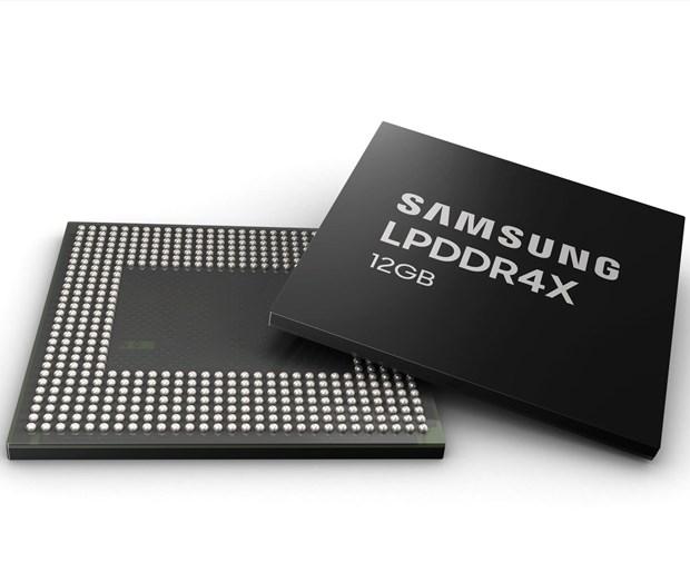 Samsung san xuat hang loat DRAM 12Gb cho dien thoai thong minh hinh anh 1