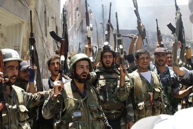 Quan doi Syria mo chien dich truy quet khung bo thanh chien hinh anh 1