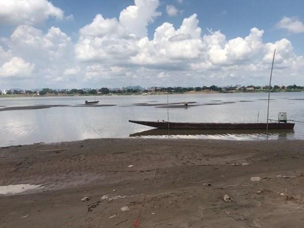 Muc nuoc song Mekong tai Nakhon Phanom thap nhat trong gan 100 nam hinh anh 1