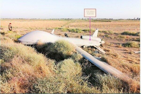 Iraq: May bay do tham khong nguoi lai cua My bi roi gan Baghdad hinh anh 1