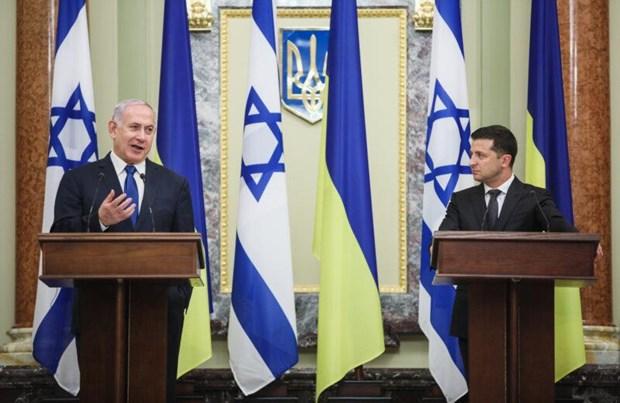 Ukraine mo van phong cong nghe cao va dau tu tai Jerusalem hinh anh 1