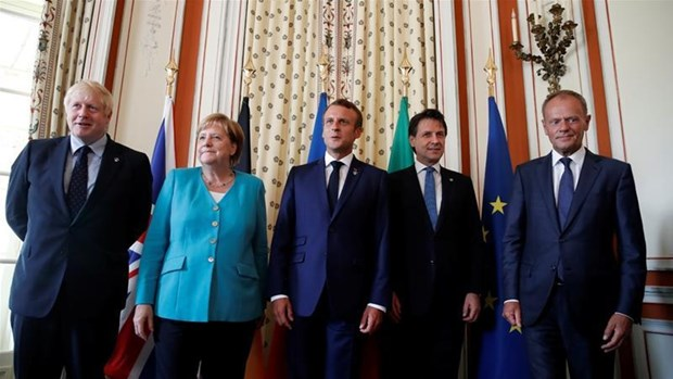 Lãnh đạo các nước tham dự Hội nghị thượng đỉnh G7. Nguồn: Al Jazeera