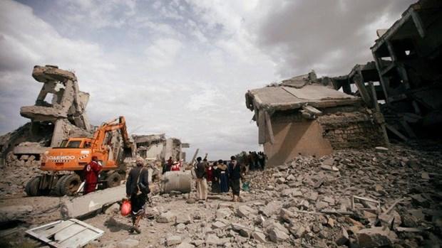 Yemen: Phien quan Houthi tan cong cac san bay cua Saudi Arabia hinh anh 1