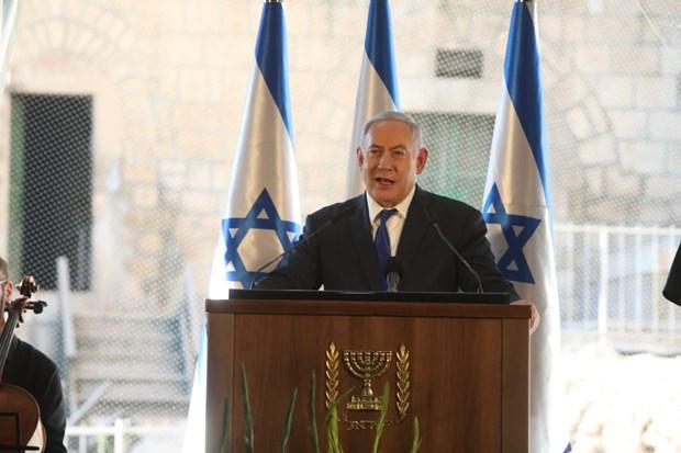 Chuyen tham gay tranh cai cua Thu tuong Israel toi Hebron truoc bau cu hinh anh 1