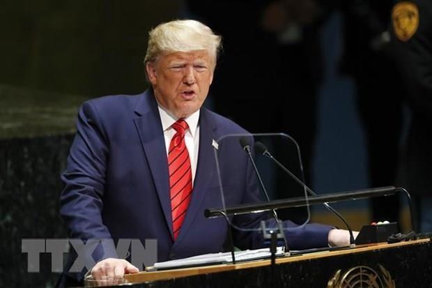 Tong thong Donald Trump chi trich cuoc dieu tra ong la dao chinh hinh anh 1