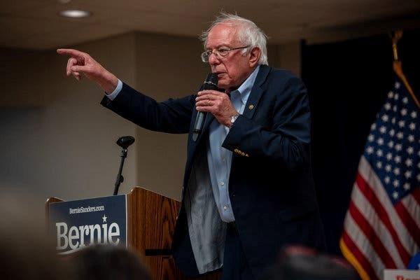 Thuong Nghi sy My Bernie Sanders nhap vien khi dang tranh cu hinh anh 1