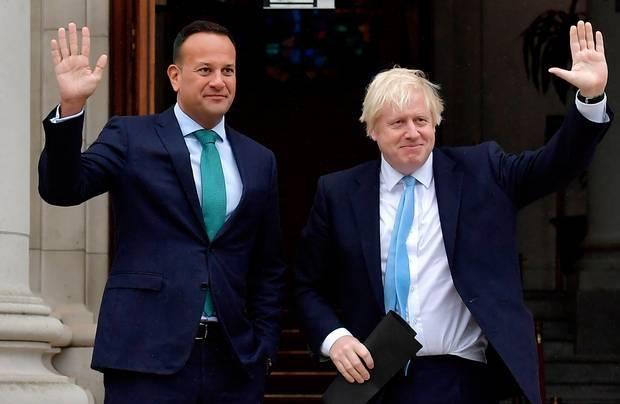 Anh va Ireland khang dinh thoa thuan Brexit van kha thi hinh anh 1