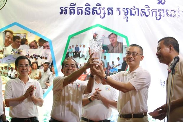 Cuu sinh vien Campuchia tai Viet Nam to chuc cuoc gap thuong nien hinh anh 1