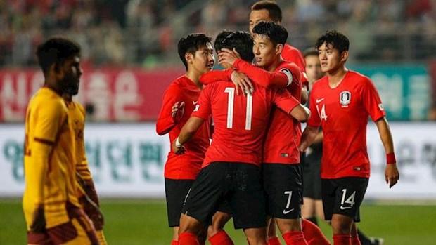 Vong loai World Cup 2022: Doi tuyen Han Quoc da toi Binh Nhuong hinh anh 1