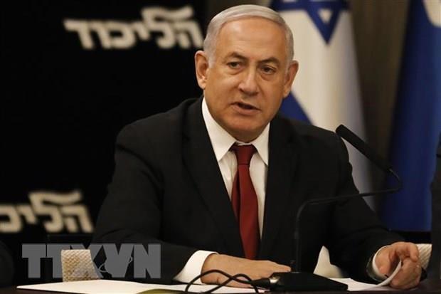 Thu tuong Israel Benjamin Netanyahu no luc thanh lap chinh phu moi hinh anh 1