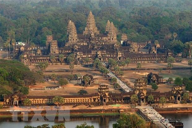 Campuchia: Luong du khach quoc te den ky quan Angkor giam manh hinh anh 1