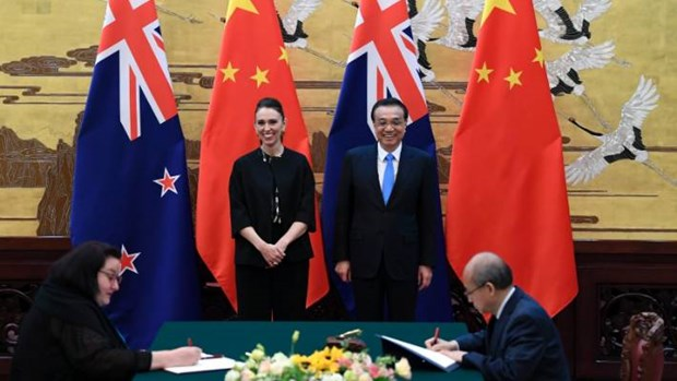 New Zealand-Trung Quoc thong qua viec nang cap FTA song phuong hinh anh 1