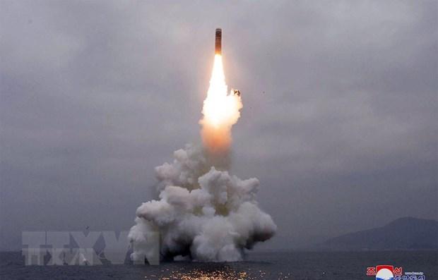 Trieu Tien muon lam chu nang luc phong ICBM tu cac be phong di dong hinh anh 1