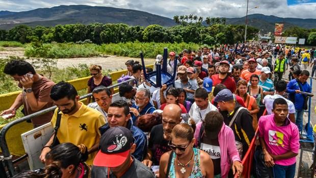 LHQ: Can 1,35 ty USD de doi pho voi dong nguoi ti nan Venezuela hinh anh 1