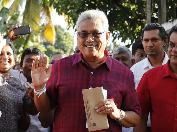 Sri Lanka: Ong Gotabaya Rajapaksa thang cu tong thong hinh anh 1