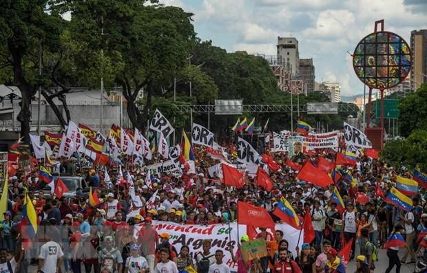 Venezuela khang dinh tien trien trong dam phan voi phe doi lap hinh anh 1