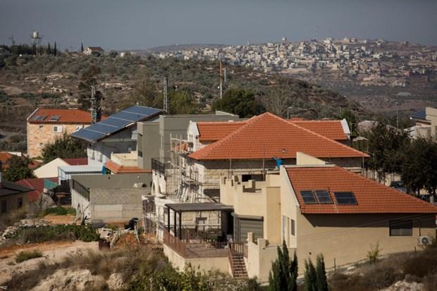 Palestine len an Israel dong cua cac van phong tai Dong Jerusalem hinh anh 1