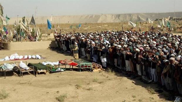 Afghanistan: No min tai bien gioi khien nhieu tre em thiet mang hinh anh 1
