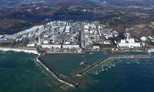 Nha may Dien hat nhan Fukushima nghi ro ri nuoc nhiem phong xa hinh anh 1