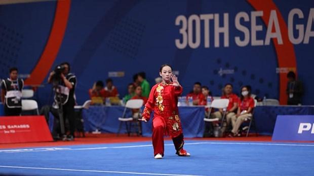 SEA Games 30: Tam huy chuong dau tien cua doan the thao Viet Nam hinh anh 1