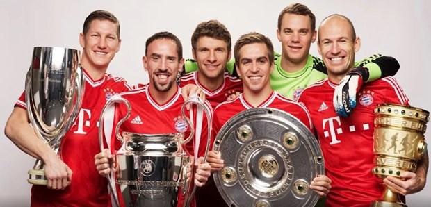 Bayern Munich: Nhung con so an tuong cua mot thap ky 2010-2019 hinh anh 1