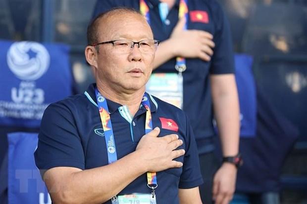VCK U23 chau A 2020: HLV Park Hang-seo hai long voi tran ra quan hinh anh 1