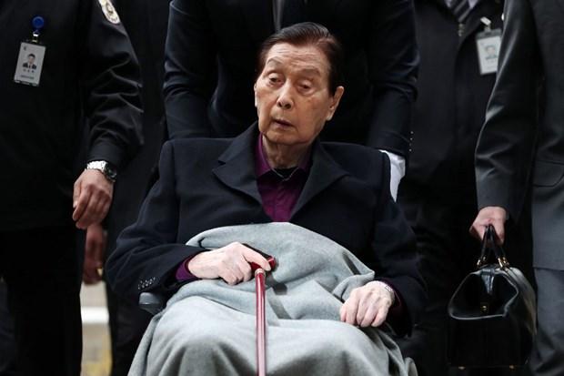 Han Quoc: Nguoi sang lap tap doan Lotte qua doi o tuoi 99 hinh anh 1