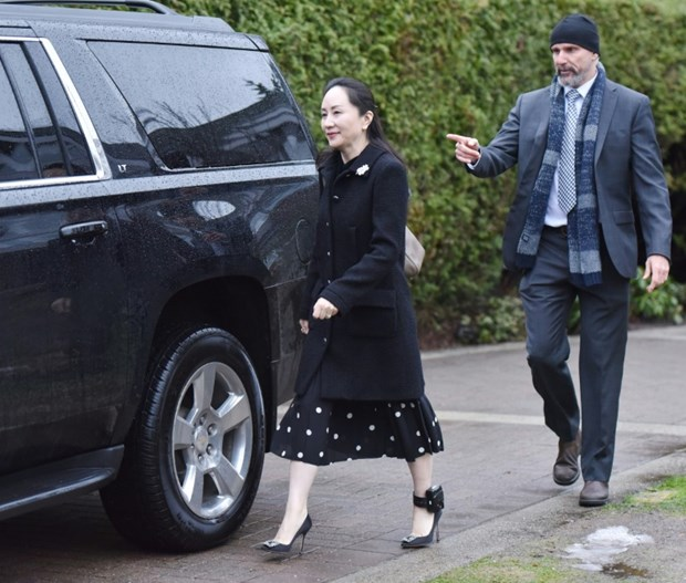Canada bat dau phien toa xem xet dan do CFO Huawei Manh Van Chau hinh anh 1
