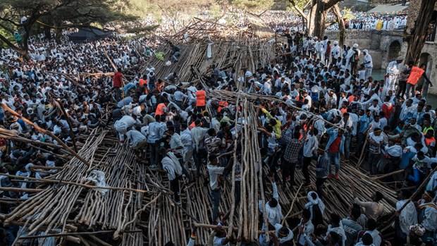 Tai nan nghiem trong khien nhieu nguoi chet tai le hoi cua Ethiopia hinh anh 1