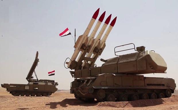 Syria ban ha 20 may bay khong nguoi lai cua Tho Nhi Ky hinh anh 1
