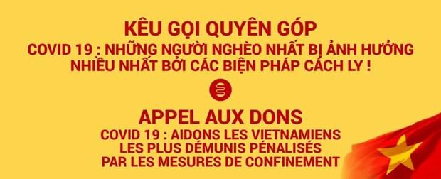 Kieu bao Viet Nam tai Phap ung ho chong dich COVID-19 hinh anh 1