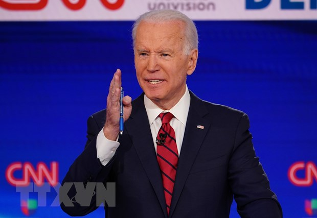 Ong Joe Biden chien thang trong cuoc bau cu so bo o bang Alas hinh anh 1