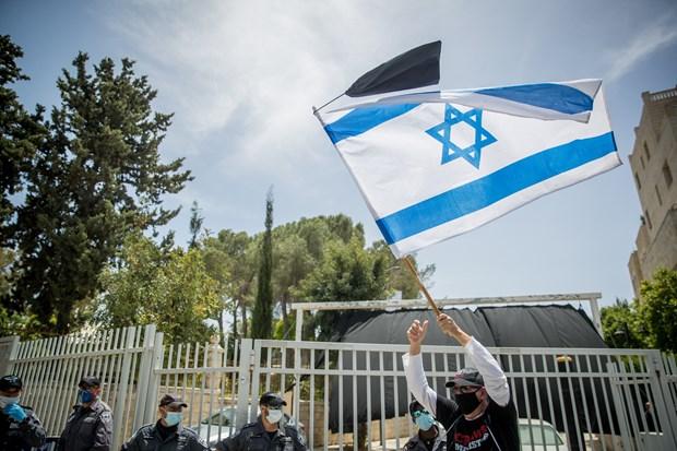 Quoc hoi Israel phe chuan thoa thuan thanh lap chinh phu hinh anh 1