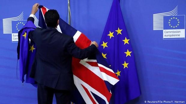 Dam phan EU-Anh thoi hau Brexit van con nhieu trac tro hinh anh 1