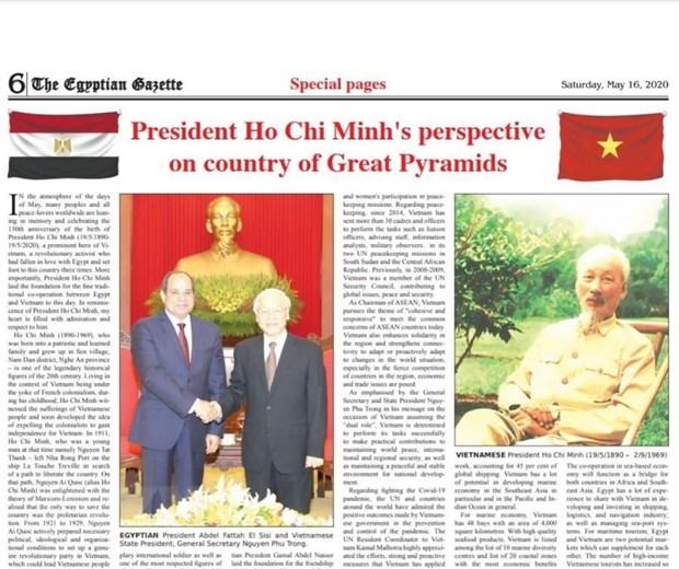 Bao Ai Cap dang bai viet ca ngoi Chu tich Ho Chi Minh hinh anh 1