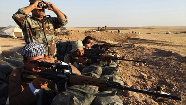 Iraq phat dong chien dich tan cong nham 'nho tan goc' IS hinh anh 1