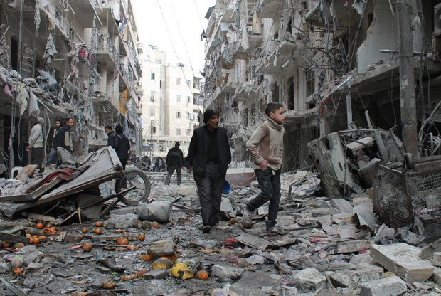 Syria len tieng phan doi bien phap trung phat cua My hinh anh 1