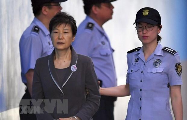 Han Quoc: Cuu Tong thong Park Geun-hye duoc giam an hinh anh 1