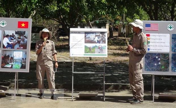 Giai quyet hau qua chien tranh: Diem sang quan he Viet Nam-Hoa Ky hinh anh 1