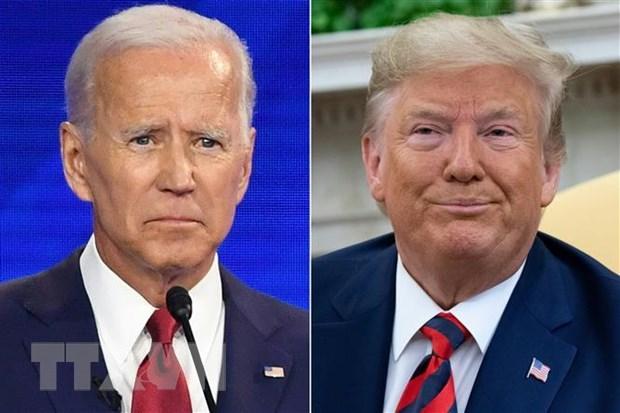 Joe Biden vuot qua Tong thong Trump ve ty le ung ho cua cu tri doc lap hinh anh 1
