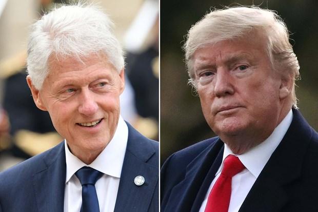Ong Bill Clinton chi trich cach Tong thong Trump doi pho COVID-19 hinh anh 1