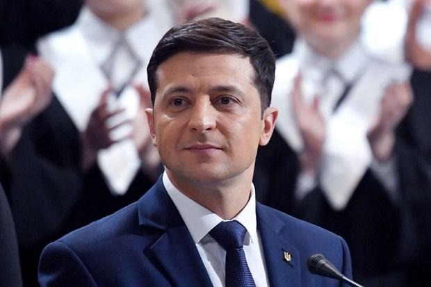 Tong thong Ukraine muon doi thoai truc tiep voi nguoi dong cap Nga hinh anh 1