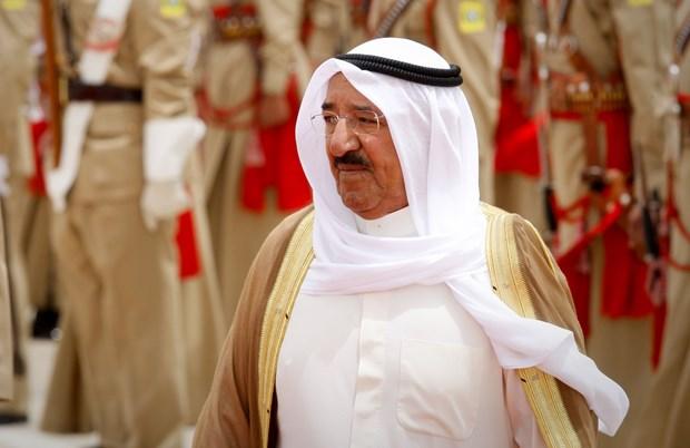 Quoc vuong Kuwait Sabah al-Ahmad al-Sabah qua doi o tuoi 91 hinh anh 1
