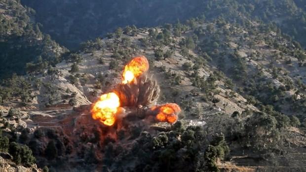 My khong kich cac muc tieu Taliban o mien Nam Afghanistan hinh anh 1