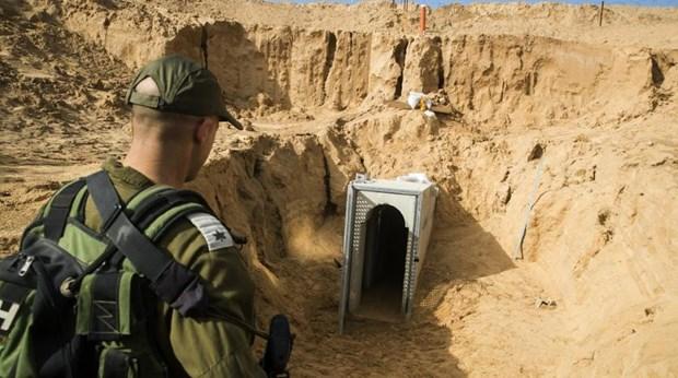 Israel phat hien duong ham xuyen bien gioi tu Dai Gaza hinh anh 1